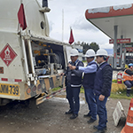Osinergmin supervisa cisternas de hidrocarburos en Huancayo