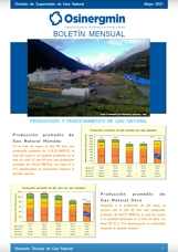 Boletín Mensual de la División de Supervisión de Gas Natural
